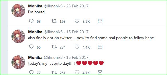 1-lilmoniX tweet 14 feb (her time)