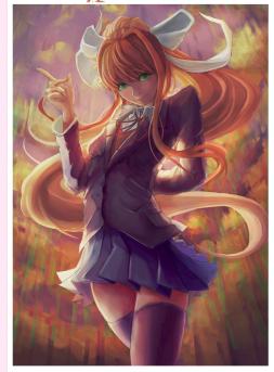 Just Monika by IKHCr
